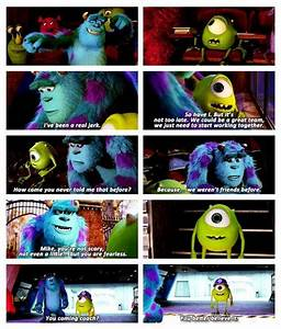 Monsters Univer... Disney Monsters University Quotes