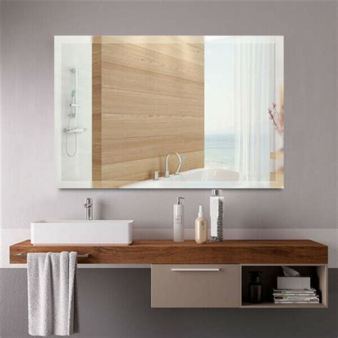 Large Bathroom Mirrors For Sale by Large Framed Decorative Wall Mirror Rectangle Hanging