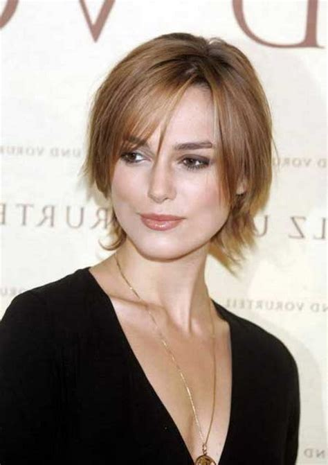 short haircuts  oval faces