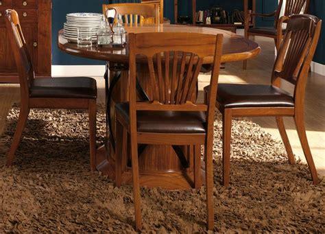 chaise ancienne cuir et bois chaise bois et cuir