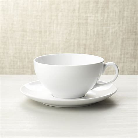 coffee tea service sets cappuccino cup with saucer crate and barrel