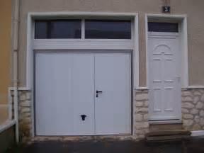 pose porte de service porte de garage avec porte de service obasinc