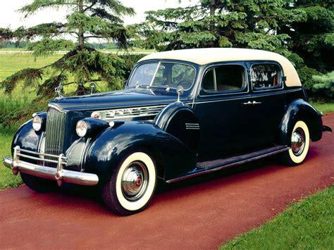 1940 Packard 180 Super Eight Custom Club Sedan Retro