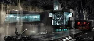 Tour The Batcave In New Batman V Superman Concept Art