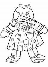 Coloring Doll Pages Rag Baby Chucky Dolls Printable Marie Getcolorings American Paper Getcoloringpages Killer Cat sketch template