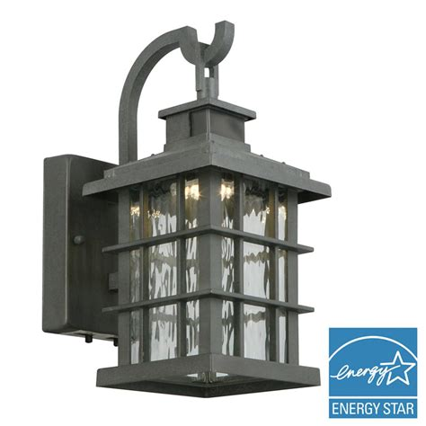 outdoor ls home depot home decorators collection summit ridge collection zinc