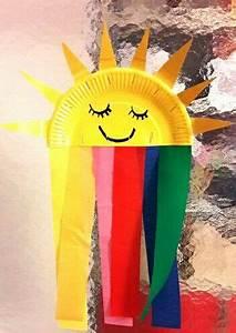 Sommer Basteln Kinder : die besten 25 sonne basteln ideen auf pinterest windspiele kinder windspiele garten und ~ Orissabook.com Haus und Dekorationen