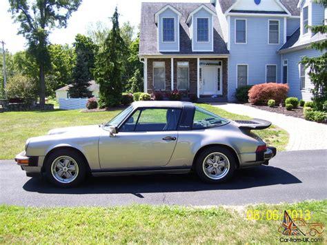 1986 porsche targa for sale 1986 porsche 911 carrera targa 2 door 3 2l