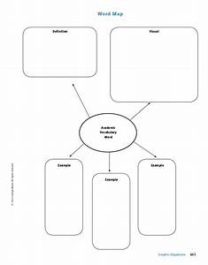 word map graphic organizer vocabulary With vocabulary graphic organizer templates