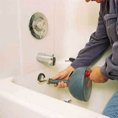 plumbing repairs   clear  clogged drain actionplushi