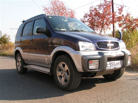 Daihatsu Terios Picture by 1997 Daihatsu Terios Pictures 1300cc Gasoline
