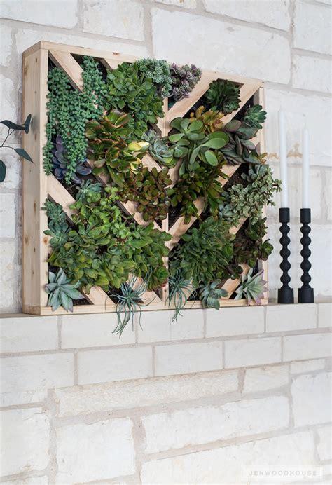 To Make A Vertical Garden Wall by How To Make A Vertical Succulent Garden Crafty Goodness