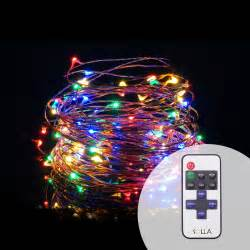 indoor outdoor 10m 33ft 100 led usb christmas copper wire fairy string light luces dimmable