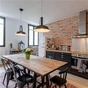 Cuisine Style Industriel Ikea : cuisine moderne am nagement et id e d co domozoom ~ Melissatoandfro.com Idées de Décoration