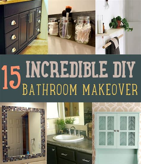Diy Bathroom Makeover Ideas by Diy Bathroom Makeover Ideas Diy Projects For