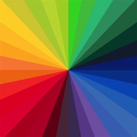 rainbow color background  vector graphics