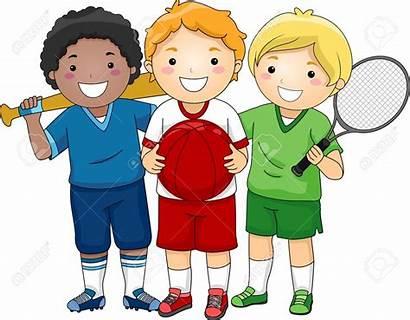 Clipart Sports Boys Athletic Person Sporty Boy