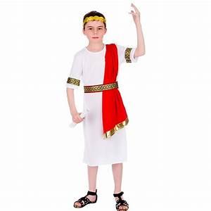Roman Emperor Kids Boys Costume Julius Caesar Historical ...