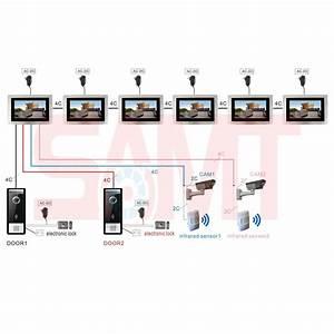 Extra  New 7 U201d Hd Ultra Silver Intercom Monitor