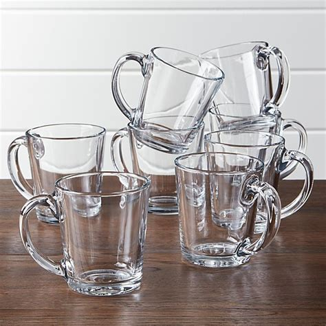Also, these equipment are fantastic for ensuring there is maintain your beverage hot. Tempo Clear Glass Coffee Mug, Set of 8   Crate and Barrel