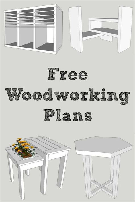 woodworking plans library diy furniture plans