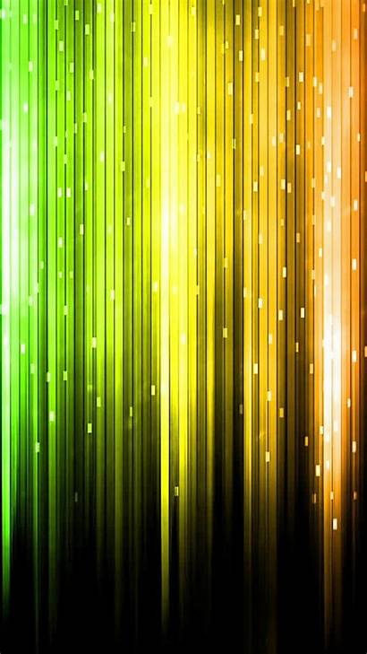 Phone Abstract Wallpapers Yellow Cool Lights 3d