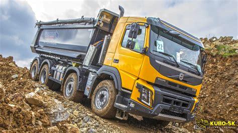 volvo trucks  construction volvo fmx show czech