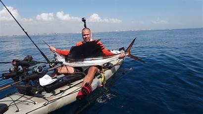 Kayak Fishing Offshore Sail Beginners Tips Fish