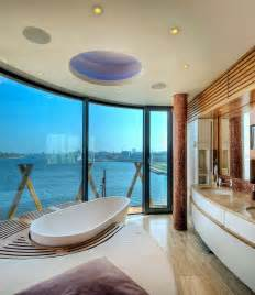 unique bathroom designs 20 luxurious bathrooms with a scenic view of the