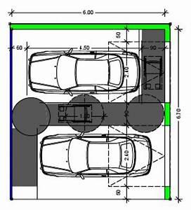 Dimension Garage 1 Voiture : dimension standard d un garage pour voiture ~ Dailycaller-alerts.com Idées de Décoration