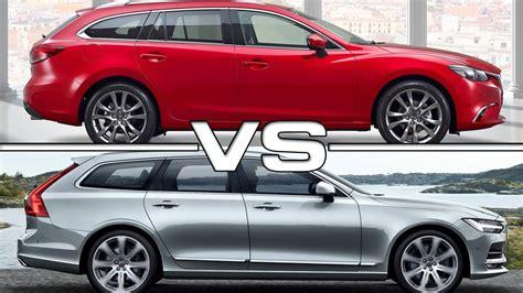 Mazda 6 Wagon Vs Volvo V90 Youtube
