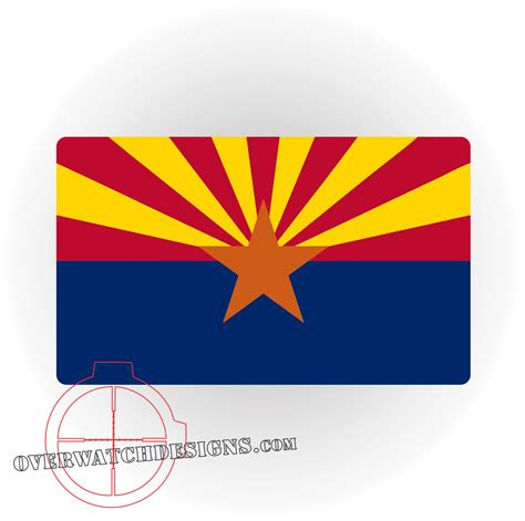 of arizona colors arizona state flag overwatch designs