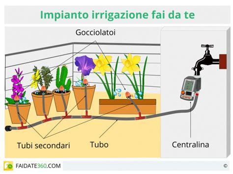 impianti irrigazione terrazzo irrigazione a serve quando farla quali i sistemi
