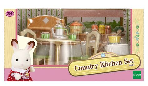sylvanian families country kitchen set sylvanian families country kitchen set george 8421
