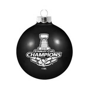 pittsburgh penguins 2016 stanley cup chions black glass christmas ornament walmart com