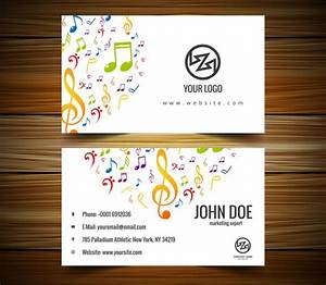 21 music business cards free psd ai vector eps for Music business cards templates free