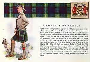 Scottish Campbell Clan History