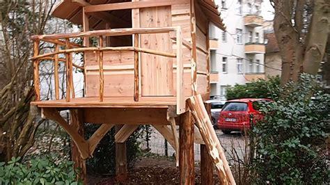 Baumhaus Für Kinder Selber Bauen by Baumhaus Stelzen Selber Bauen Wohn Design