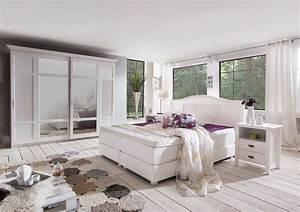 Landhaus Schlafzimmer Komplett Massiv : schlafzimmer landhaus weiss ~ Bigdaddyawards.com Haus und Dekorationen