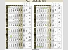 Kalendář 2018 Printable 2018 calendar Free Download USA
