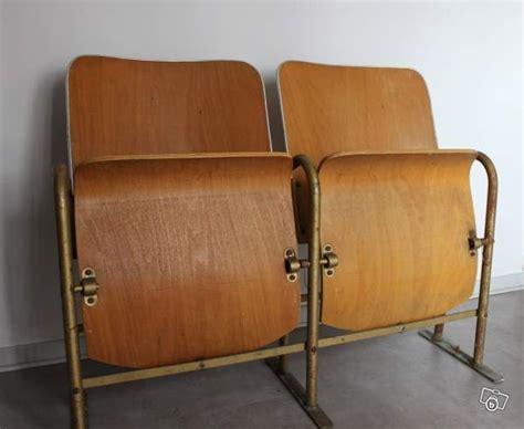 vintage siege banquette bois cin 233 ma 2 fauteuils