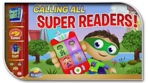 Pbs Kids Super Why`s Calling All Super Readers Best Free