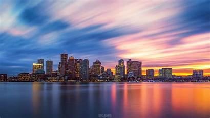 Skyline Boston Sunset Wallpapers Detroit Resolution 120sec