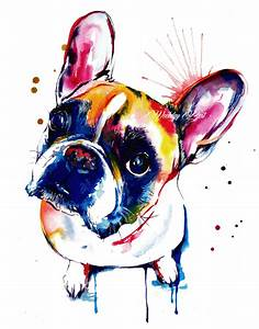 French Bulldog Frenchie Art Print Print of by WeekdayBest ...