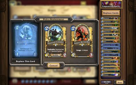 Hearthstone Deck Helper Reddit hearthstone on quot anyone can cook deck recipes are