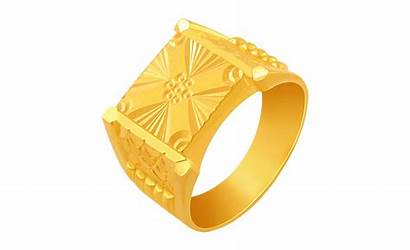 Ring Gold Clipart Rings Mens Yellow 22k