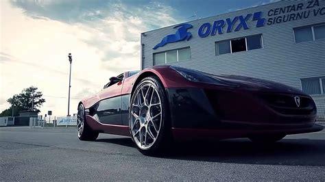 Rimac Concept One Schnellste Elektroauto Der Welt