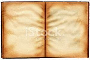 Old Book`s Broadside With Blank Shabby Big stock photos ...