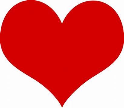 Clipart Valentine Clip Heart Hear Valentines Outline