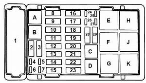 Ford E-series E-150 E150 E 150  1997   U2013 Fuse Box Diagram